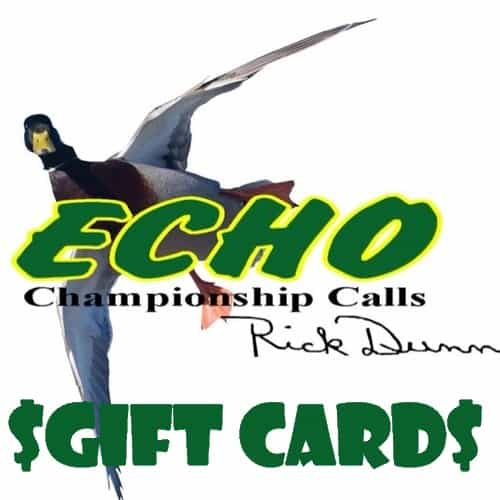 Duck Hunting Gift Card