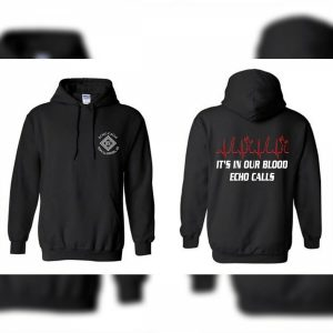 Black In our blood Echo Duck Calls Hoodie