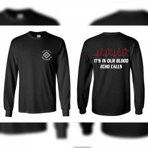 Black Gildan In Our Blood Echo Duck Calls T-Shirt