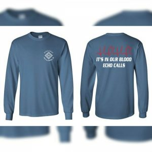 Blue In Our Blood Long Sleeve Echo Duck Calls T-Shirt