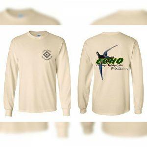 Natural Meat Hanger Long Sleeve Echo Duck Calls T-Shirt