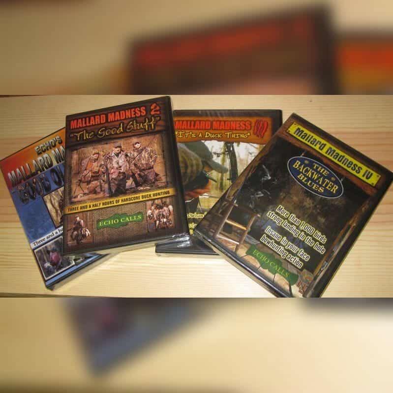 Mallard Madness Hunting DVD Combo Set 1-4