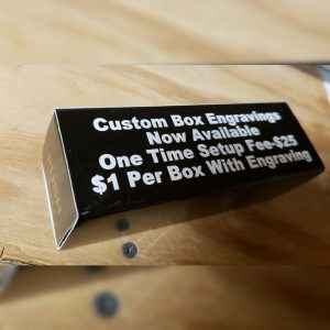 Custom Engraved Cardboard Game Call Boxes