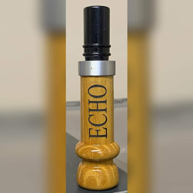 Hedge Wooden Polycarbonate Cut Down Duck Call